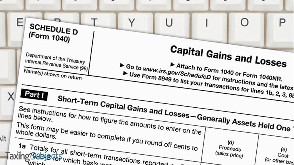 IRS Fixes Error in Schedule D Worksheet