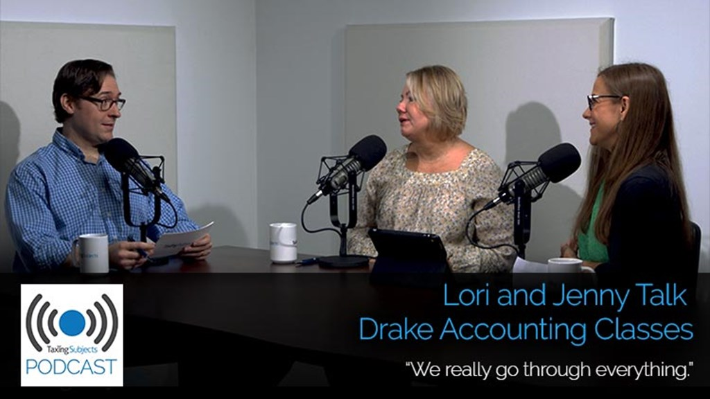 Lori and Jenny Talk Drake Accounting Classes – E29